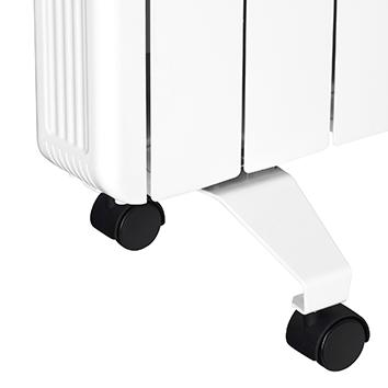 soporte con ruedas para emisores térmicos