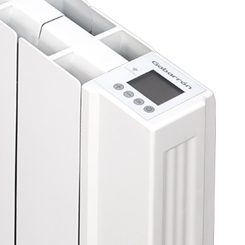 Detalle display emisor térmico digital programable con wifi ingenium