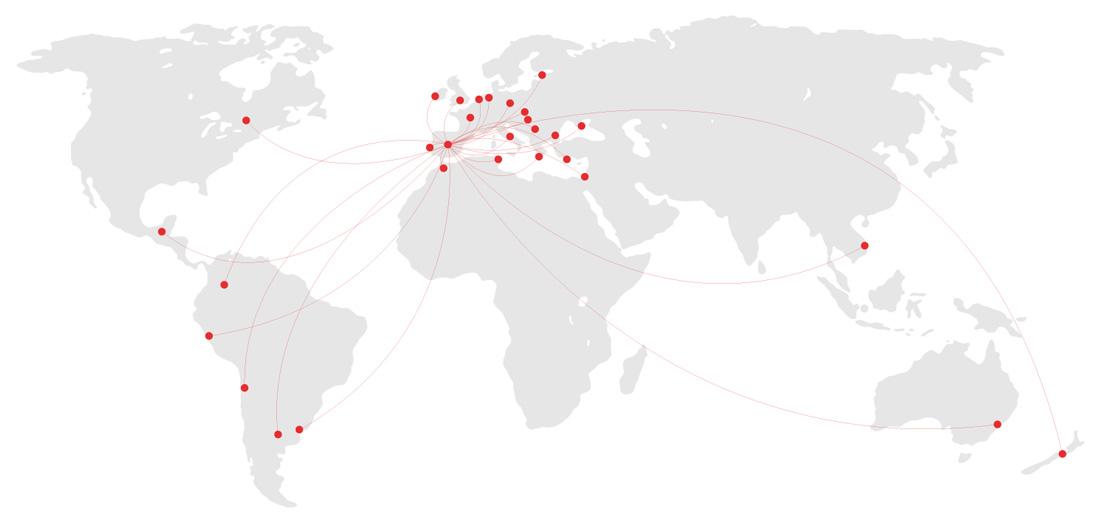 mapa mundial de exportaciones elnur