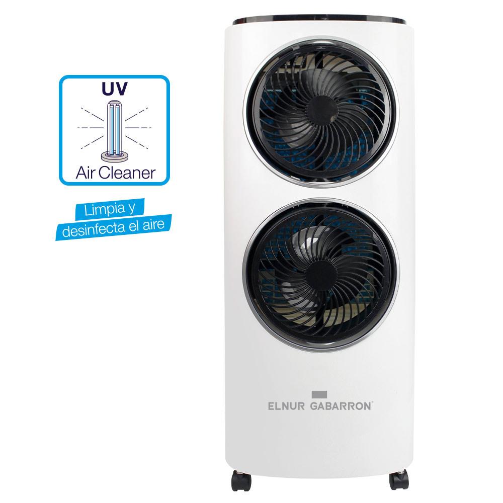 Climatizador evaporativo con luz ultravioleta
