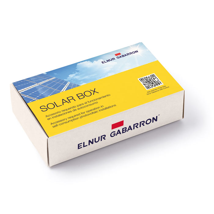 Solar box, accesorio requerido para las instalaciones de calefacción para autoconsumo acumuladores de calor Ecombi SOLAR